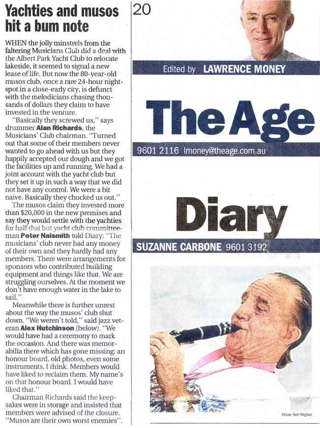 Age Diary on Alex Hutchinson