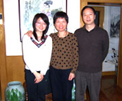 Zhang Ming Yang, Alice Wang and Zhang Yong Xun